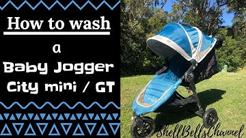 How to Wash a Baby Jogger City mini & City mini GT