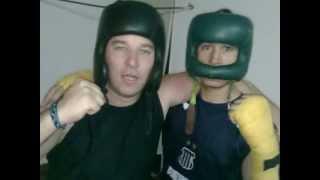 """MARIO BALDO Y GABRIEL """"GARZA"""" FUNES BOWER BOX"""