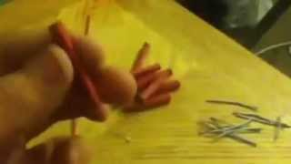 how to make a m80 firecracker (household items)