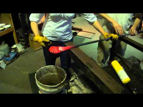 Glass blowing at the Jennifer Sears Art Gallery in Lincoln City Oregon (2 of 2)