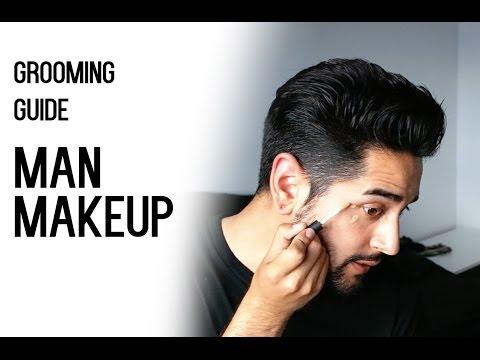 Under eye makeup for men