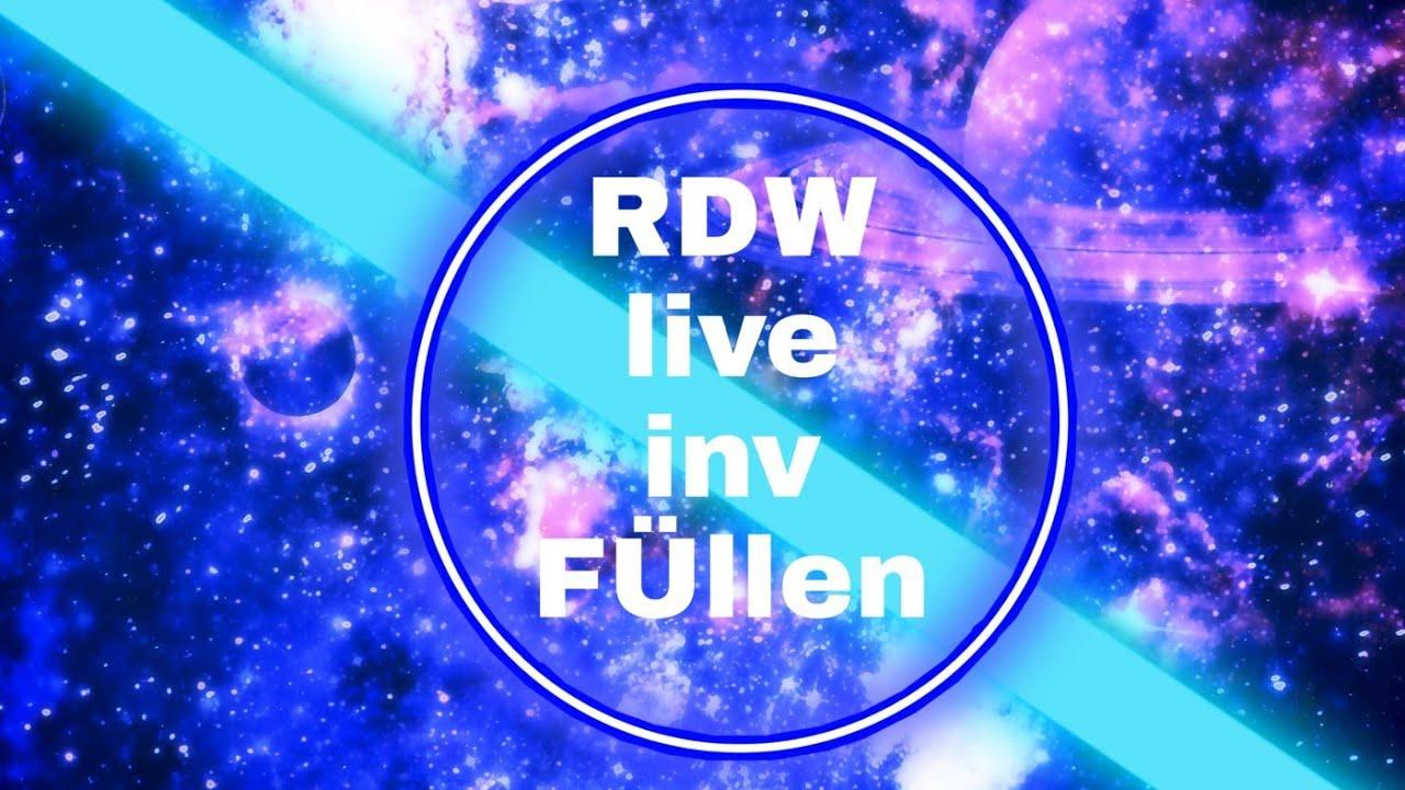 RDW Inv Füllen