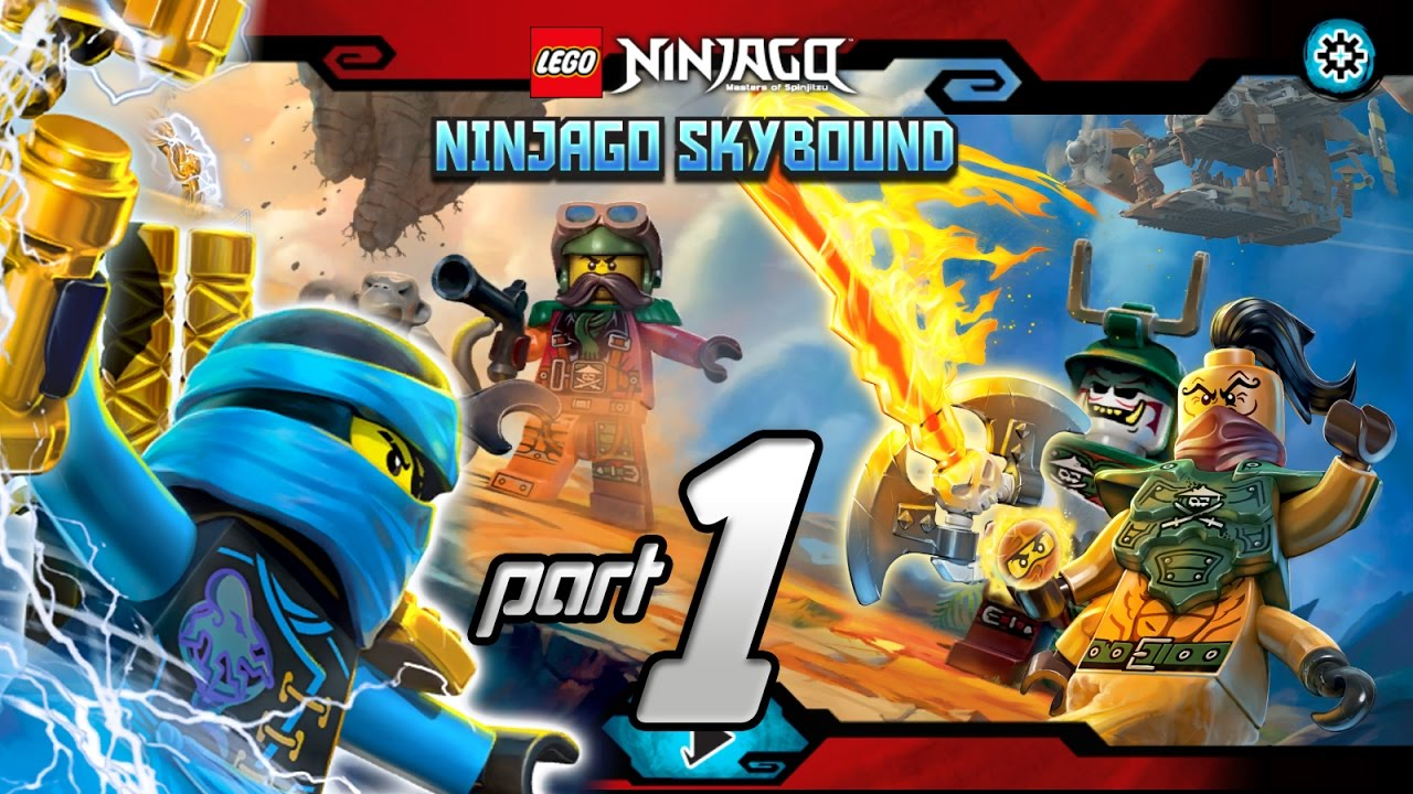Lego NINJAGO Skybound Part 1 | Ninjago online game for ...