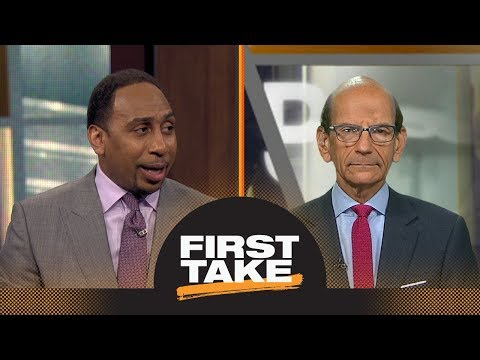 First Take reacts to Ohio State placing Urban Meyer on leave | First Take | ESPN