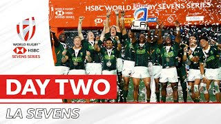 SEVENS HIGHLIGHTS: Day two of action in Los Angeles