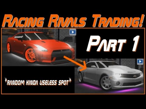 TRADING TIME!!! | Racing Rivals Trading Part 1