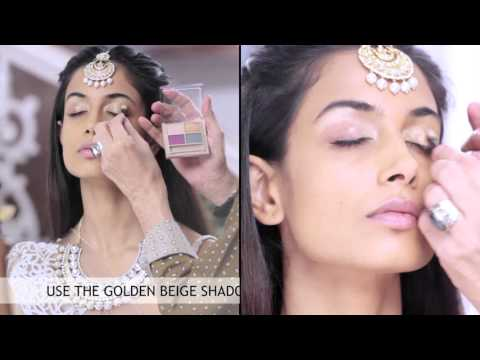 Step by Step Bridal Eye Make-up Tutorial – All Things Makeup