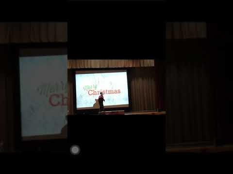 Wilmer Fernandez en presentación Manhattan academy