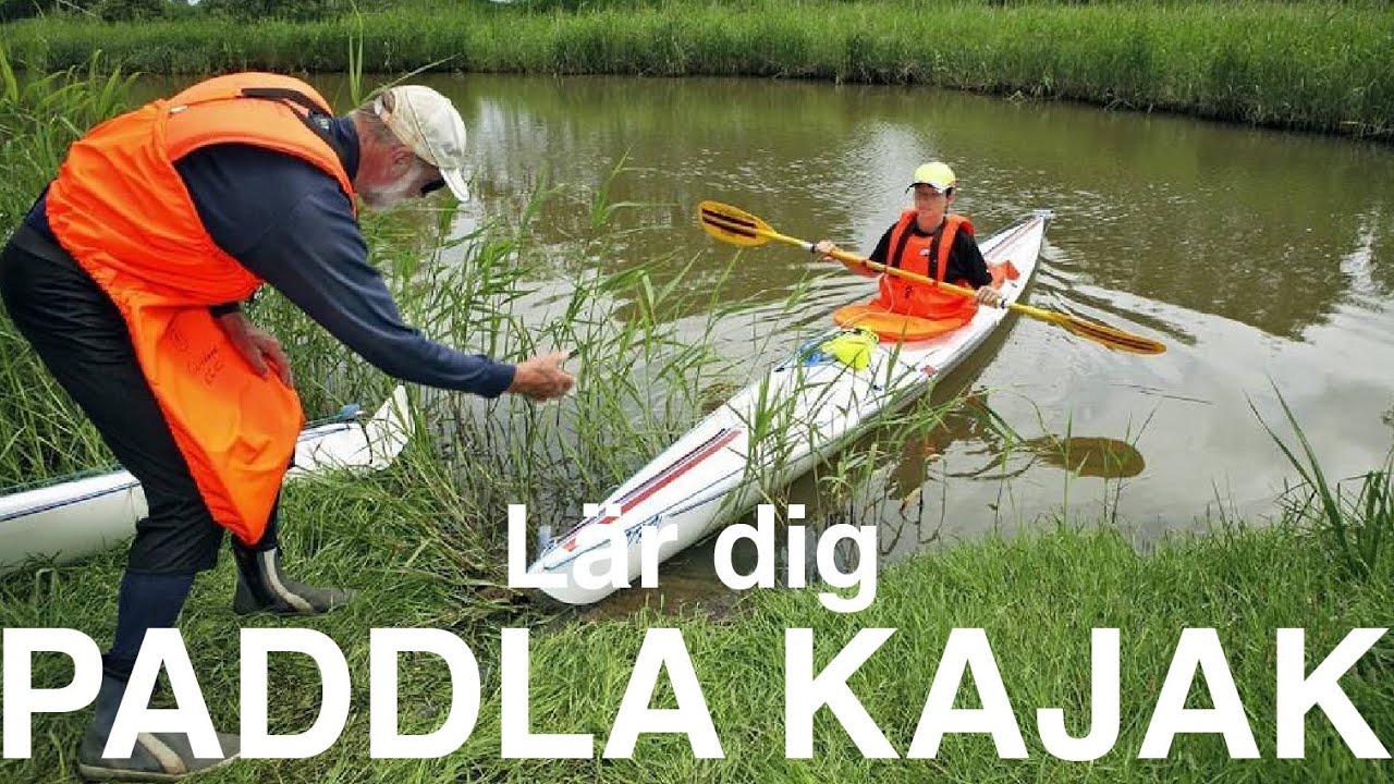 hur paddlar man kanot