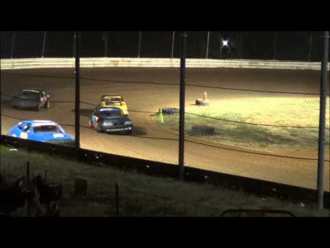 Doe Run Raceway Mini Stock Heat 9-4-15