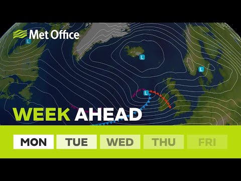 Week ahead - Lively weather this week with very strong winds & some snow