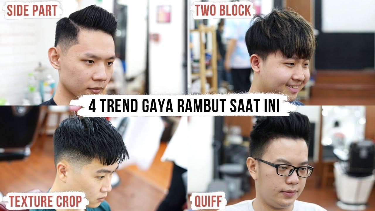 4 Gaya Rambut Yang Cocok Untuk Pria Indonesia Vlog Youtube