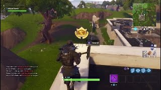 Fortnite Secret Battle Star Location Week 1 Season 4 Hidden Blockbuster Challenge
