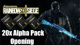First Alpha Pack opening(Give Me Black Ice) | Rainbow Six Siege