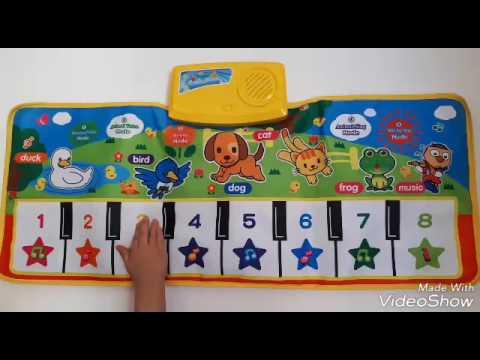 لعبة البيانو واصوات الحيوانات