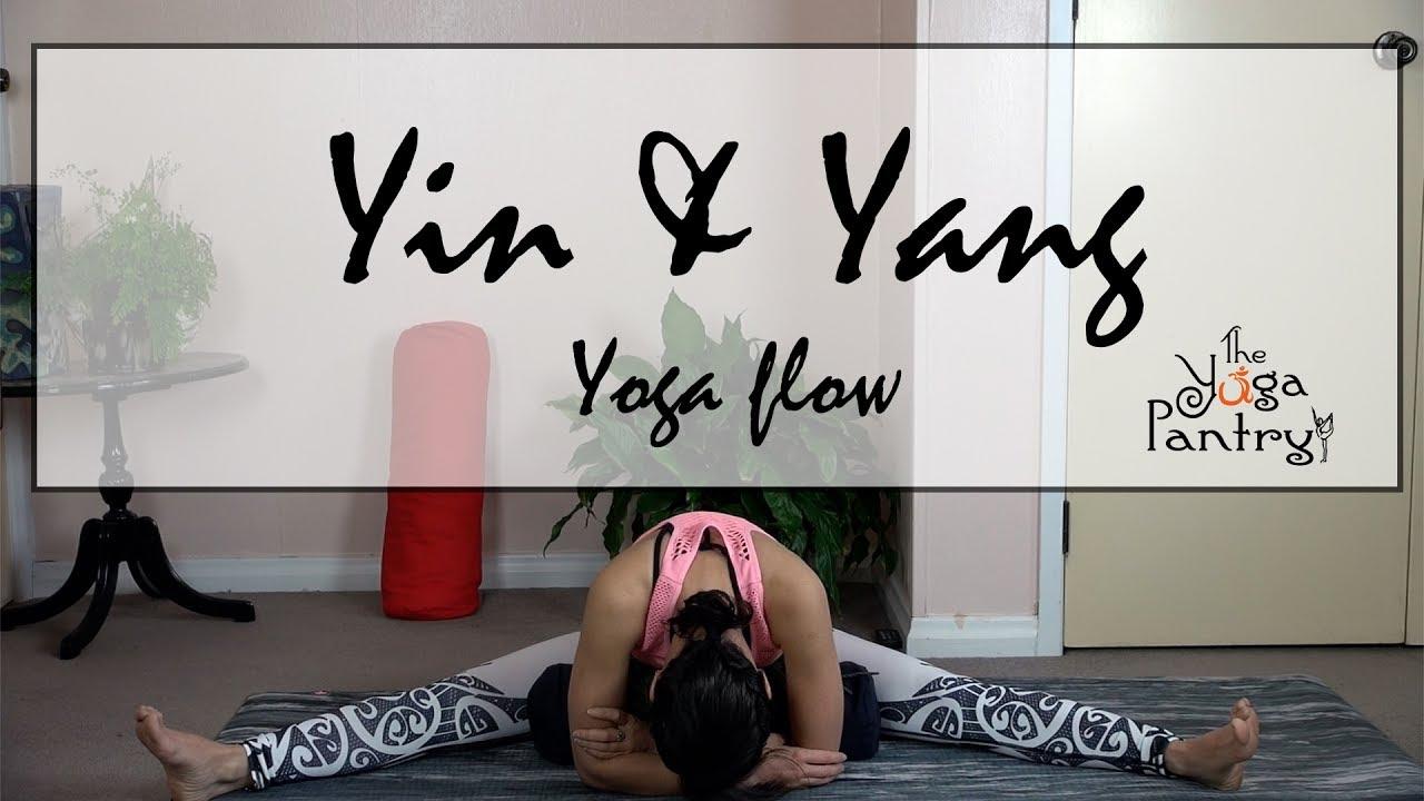 Yin and Yang Yoga Flow - YouTube