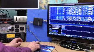 20m band SDRplay RSP demo during a contest.