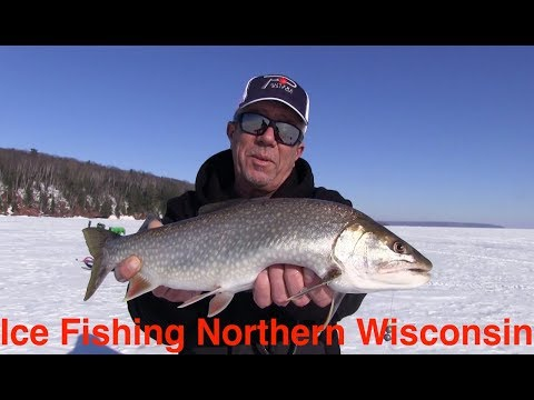 Ice Fishing Northern Wisconsin