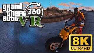 GTA 360 vr 8K spherical videos | Freaky biker thumbnail