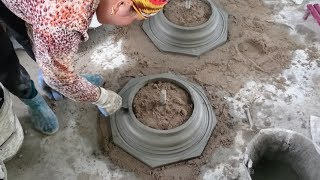 How To Build Home Foot Detail With Cement And Sand thumbnail