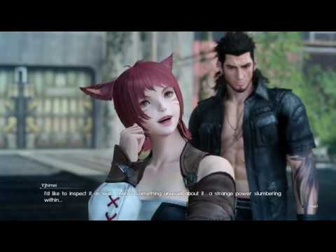 Final Fantasy 15 FF14 Collaboration