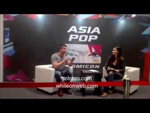 Joe Dempsie Media Q & A session at Asia Pop Comicon Manila