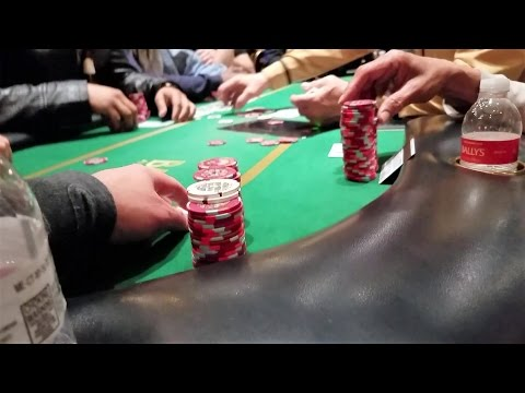Playing Poker in Atlantic City, NJ