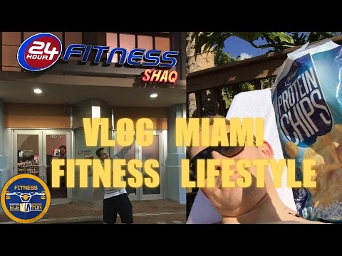 VLOG Miami - 24h Fitness / Frühstück bei Dennys / Chipotle Burrito / Dolphin Mall - Fitness Elevator