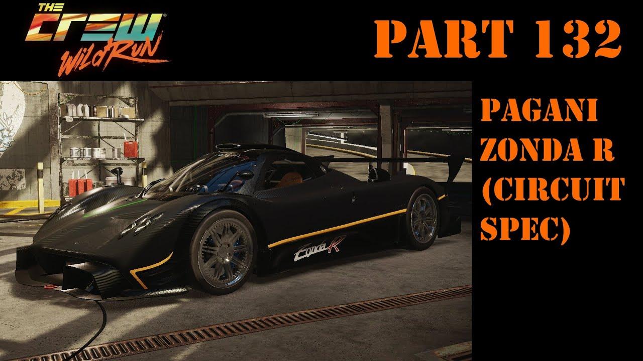 lets play the crew - part 132 - pagani zonda r (circuit spec) - 04