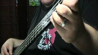 ACDC Hells Bells Bass Cover