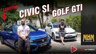 Civic Si E Golf Gti Ft. Manual Do Homem Moderno | Top Speed