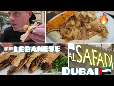 BEST RESTAURANT IN DUBAI? 🇦🇪 Al Safadi Lebanese Food Travel Layover Review