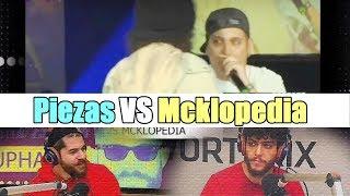Muphasa y Juancín reaccionan a la batalla Piezas VS Mcklopedia semifinal 2009