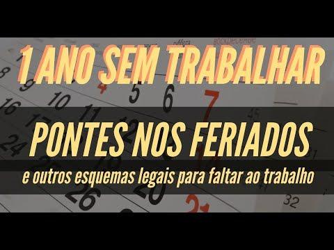 PONTES NOS FERIADOS - UM ANO SEM TRABALHAR (LEGALMENTE) I QUERO L� SABER #26