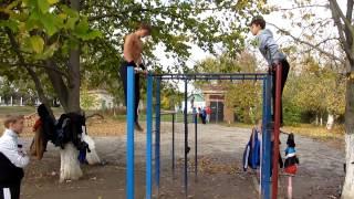 SW Херсон в гостях у Чернобаевки - общая тренировка