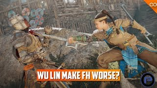Did the Wu Lin make For Honor Better? - Toxic Community - For Honor's Future