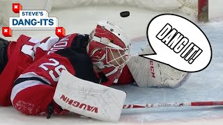 NHL Worst Plays Of The Week: STOP Leaving The Crease!   Steve's Dang-Its