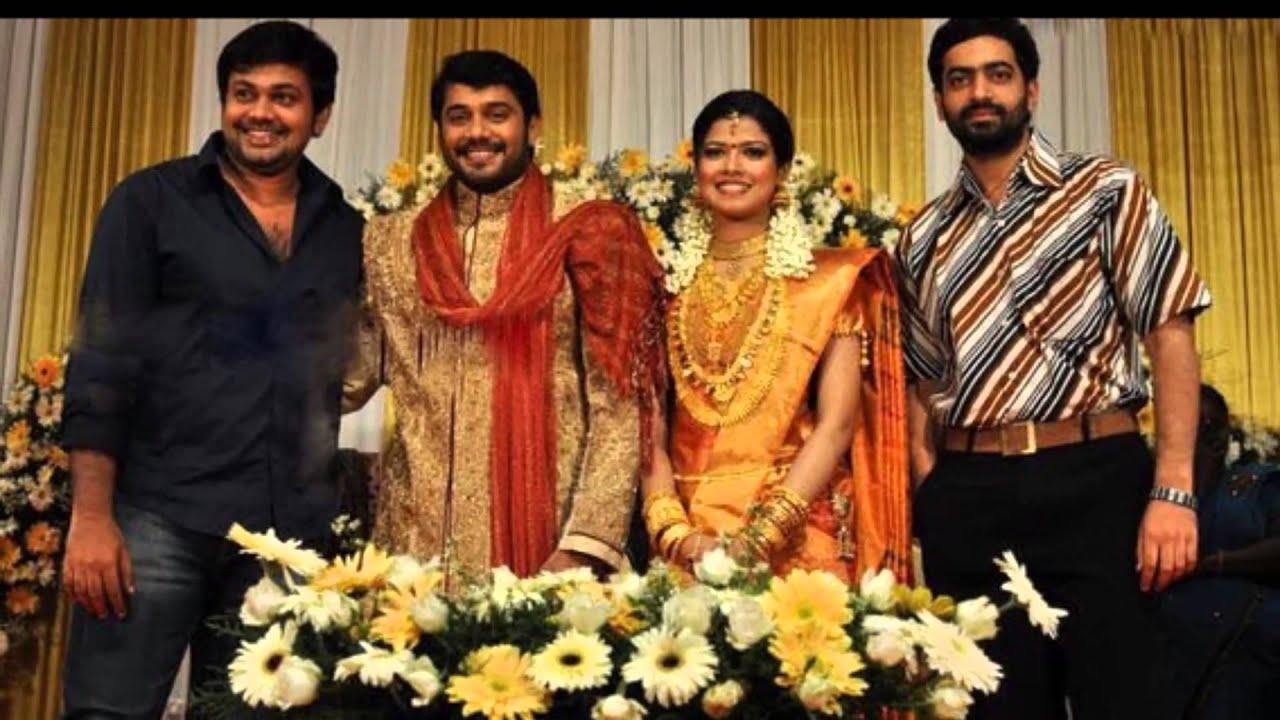 Tamil movie stars at Tamil actor Bala and singer Amrutha wedding -1