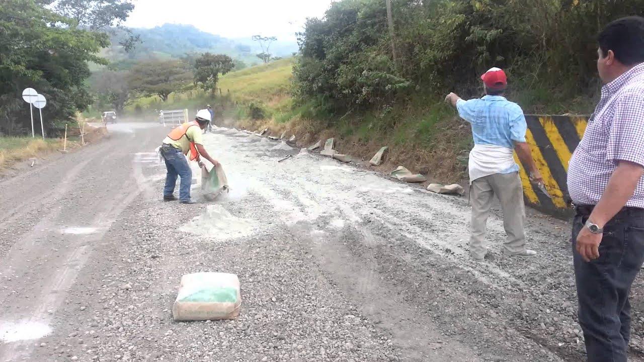 Reciclaje de pavimentos 4 base mejorada con cemento youtube - Cemento para suelo ...