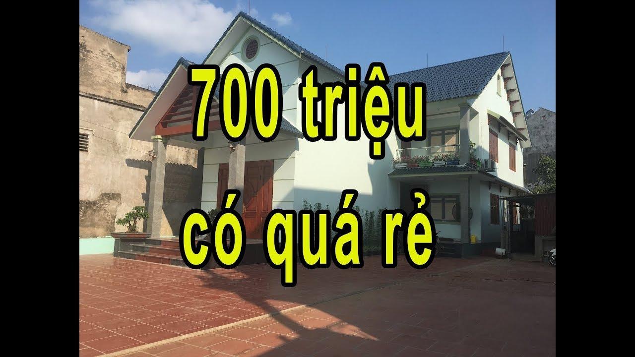 mẫu nhà 2 tầng giá 700 triệu rất rẻ và đẹp