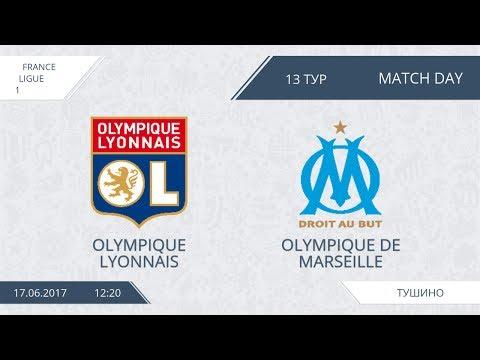 AFL17. France. Ligue 1. Day 13. Lyonnais - Marseille. Полный матч