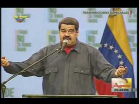 Maduro: Esto no es una gallera, carajo