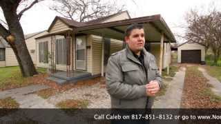 Owner financed home, Fort Worth,Texas,Byrd Drive