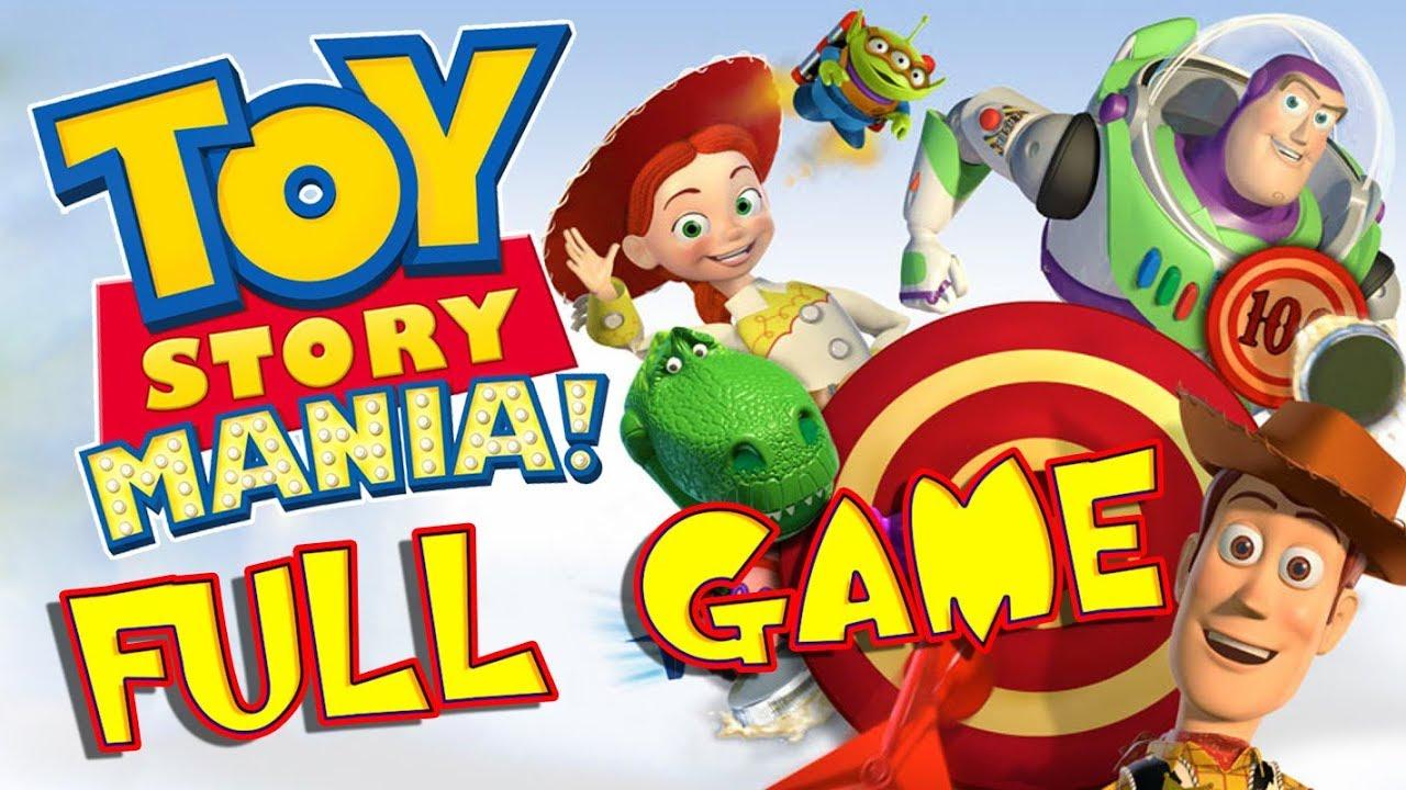 Disney Pixar Toy Story Mania Full Game Movie Longplay Ps3