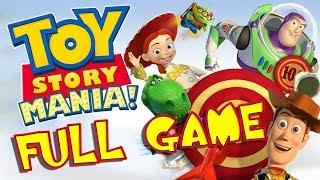 Disney Pixar Toy Story Mania FULL GAME Movie Longplay (PS3, X360, Wii, PC)