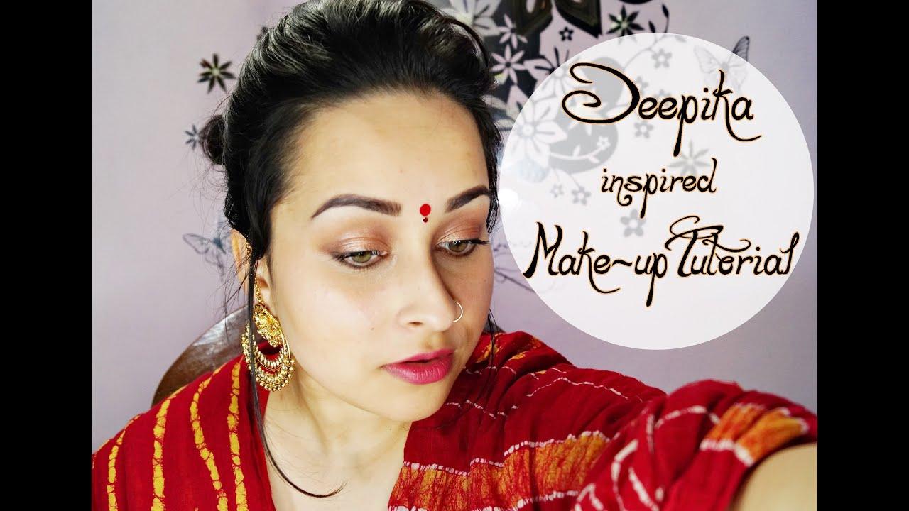 Deepika Padukone Ram-leela Makeup Tutorial - YouTube