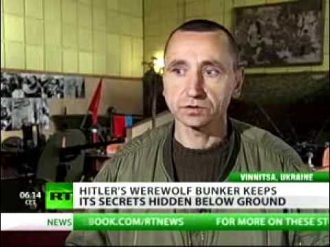 Hitler's Werewolf bunker unexplored remnant of WWII