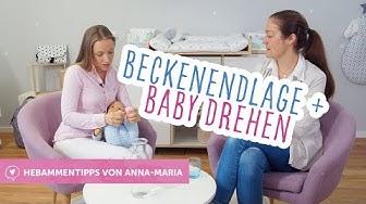 Beckenendlage | Baby drehen | Hebammentipps von Anna-Maria babyartikel.de
