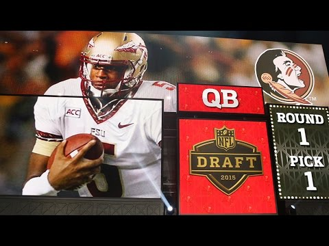 Jameis Winston goes No. 1 to Tampa Bay Buccaneers: 2015 NFL Draft