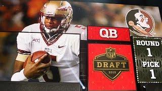 Jameis Winston goes No. 1 to Tampa Bay Buccaneers: 2015 NFL Draft